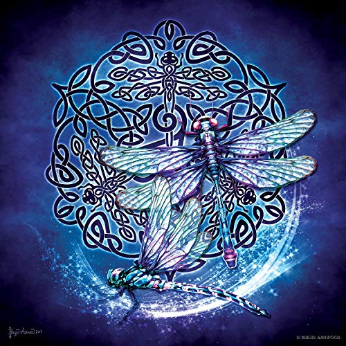 Celtic Dragonfly 1000 pc Jigsaw Puzzle by SunsOut