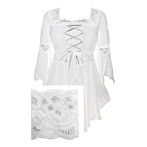 b88ed76d2fa Dare to Wear Victorian Gothic Peasant Women s Plus Size Renaissance Corset  Top