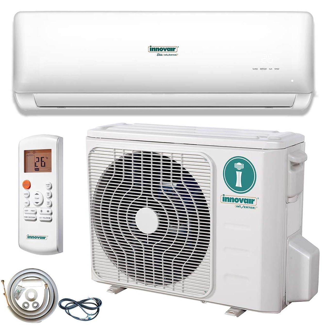 Innovair Air Conditioner Inverter Ductless Wall Mount Mini Split System Heat Pump Full Set 29~37 SEER 230V (9000 BTU 208/230V 37.5 SEER)