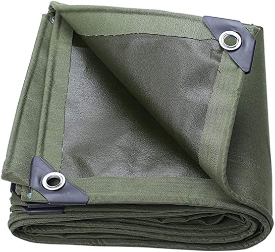 Baches ZXMEI De Haute Qualité en for Véhicules Extérieurs Et Couverts (Vert) (Taille   5x5m)