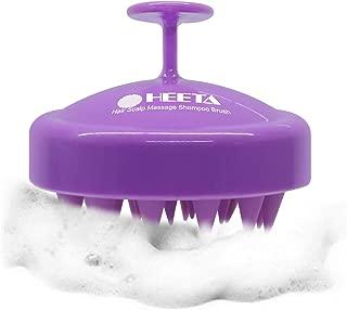 Heeta Hair Scalp Massager, Updated Wet and Dry Hair Shampoo Brush Scalp Massage Brush..