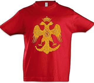 Urban Backwoods Snake Questionmark Ragazzi Bambini Kids T-Shirt Nero Taglia