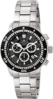 Men's 1203 II Collection Chronograph Stainless Steel Watch with Link Bracelet