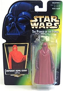 Star Wars Power of the Force Green Card Emperor's Royal Guard Action Figure 3.75 Inches
