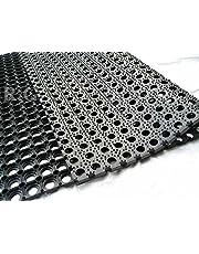 Rubbermat, rubbermat, vuilvangmat, ringmat, 22 mm, 5 maten