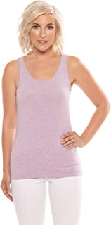 Women's Moisture Wicking Tank Top - Classic Layering Tops by Texere (Mesatee)