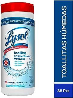Lysol Toallitas Desinfectantes Multiusos