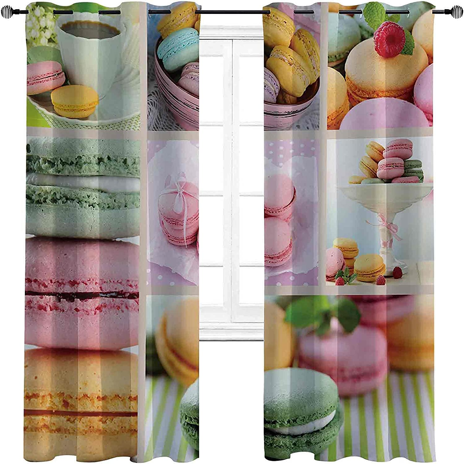 Shading Insulated Colorful Curtain Desert Now on In stock sale Traditional French Ma