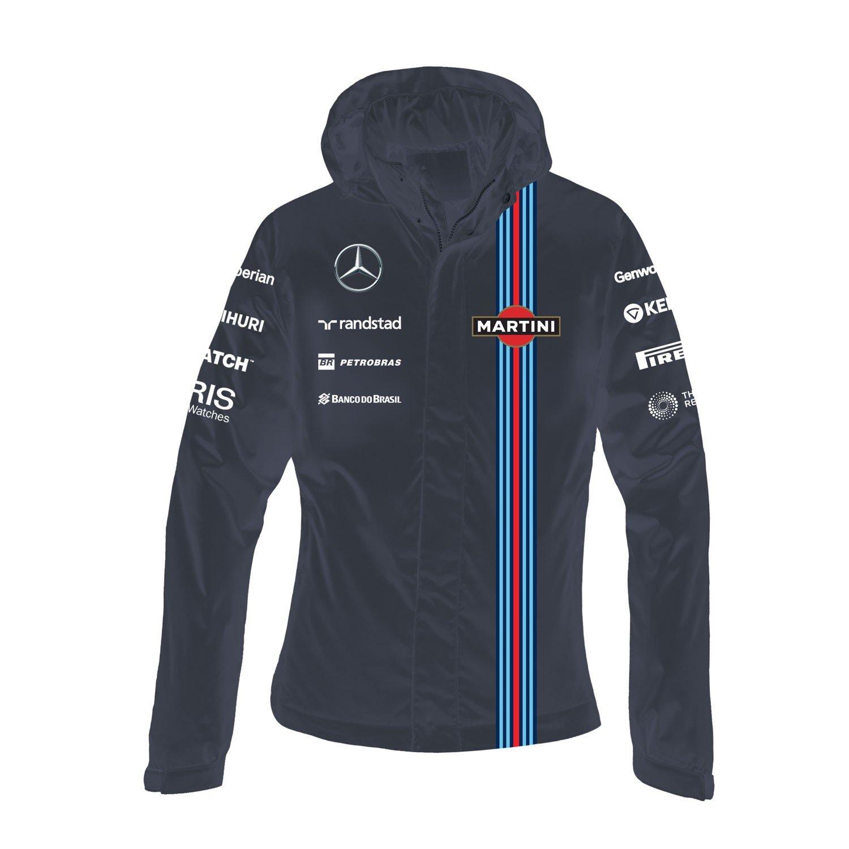 Williams Martini Racingレディースチーム防水ジャケット