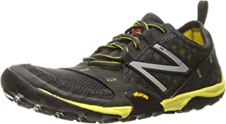 New Balance MT10 Men Shoe Gy/Ye 9.0 D Grey/Yellow