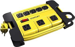 Stanley 31606 ShopMax 8-Outlet Metal Power Block