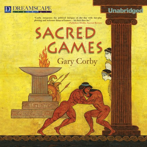 Sacred Games audiobook cover art