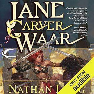 Jane Carver of Waar audiobook cover art