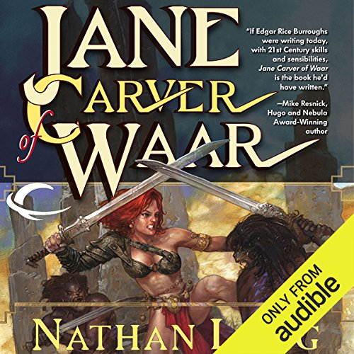 Jane Carver of Waar audiobook cover art