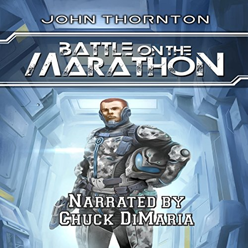 Battle on the Marathon audiobook cover art