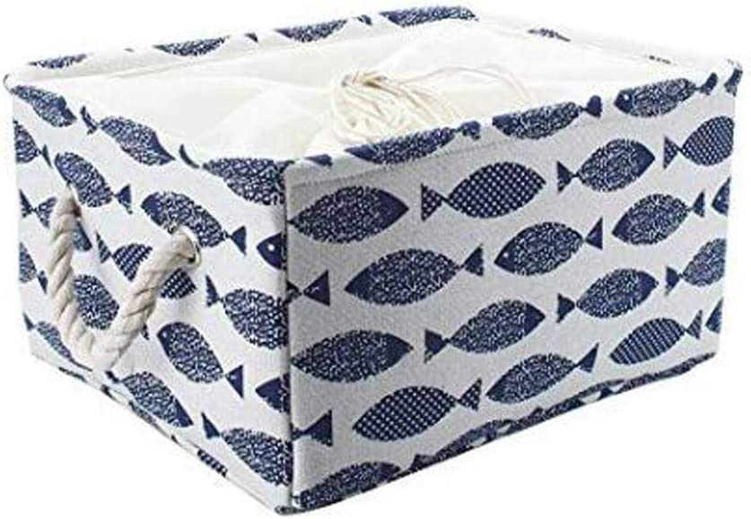 Discount mail order Storage Low price Basket Canvas Bins Toy Foldable for