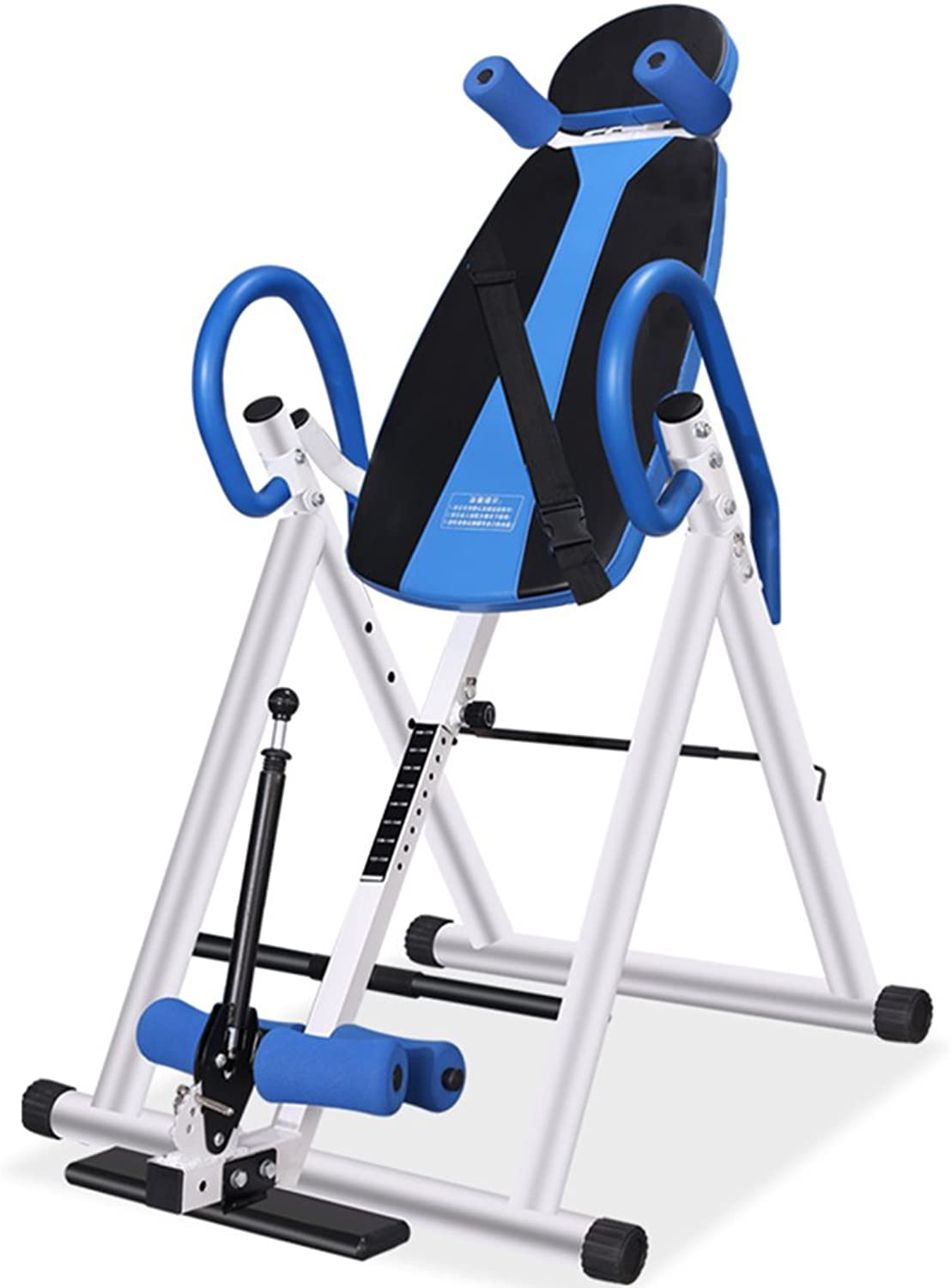 Inversion Table – Gravity Trainer with Perfect Balance System – Max User Weight 150 Kg – Improves Back Pain and Posture,blueee