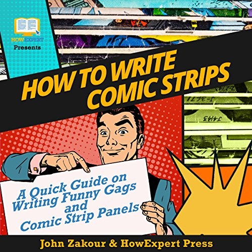 How to Write Comic Strips audiobook cover art