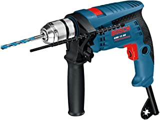 Bosch Professional GSB 13 RE - Taladro percutor (600 W, 0 – 2800 rpm, Ø max perforación hormigón 13 mm, en caja)