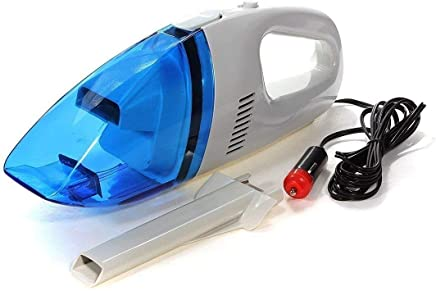 JAISINGH Plastic 12V High Power Handheld Portable Vacuum Cleaner for Car (Multicolour)