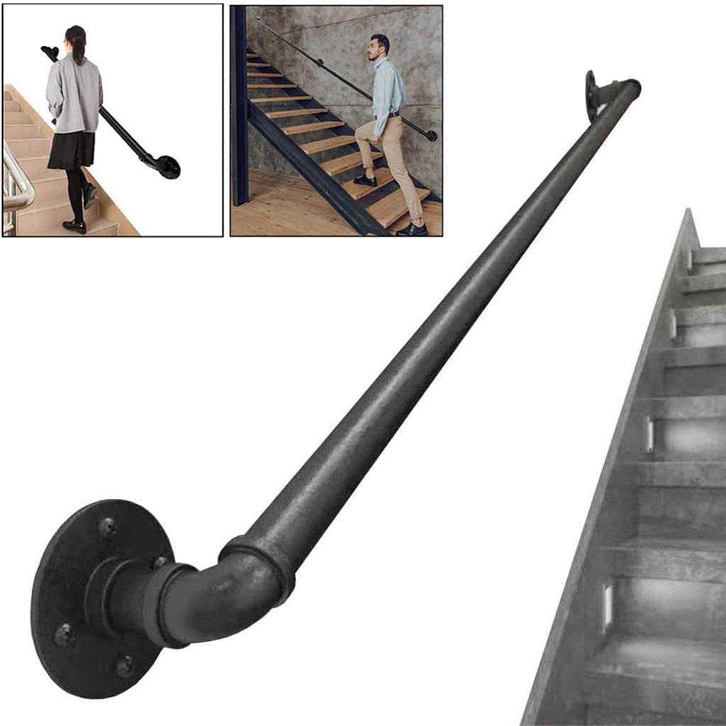 MOLIH Staircase Handrail Max 73% latest OFF Rail Banister Stairs O Stair Kit Indoor