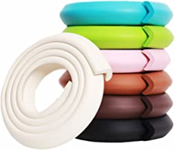 M2cbridge L Shape Extra Thick Furniture Table Edge Protectors Foam Baby Safety Bumper..