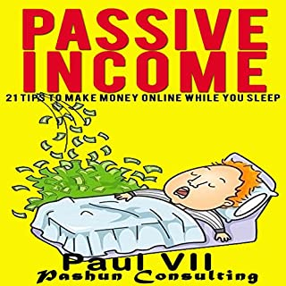 Passive Income audiobook cover art
