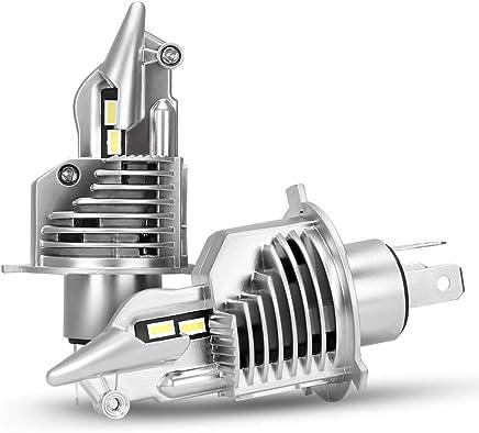 【2019年最強 業界初モデル 】SUPAREE H4 led ヘッドライト Hi/Lo 新車検対応 車/バイク用 16000LM(8000LM*2) 54W(27W*2) 12V/24V車対応(ハイブリッド車・EV車対応) ホワイト 6500K 取説保証書付 2個入 3年保証