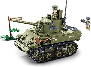Sluban M38-B0856 WWII-m5 Light Tank