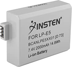 7.40V,800mAh,Li-ion,Hi-quality Replacement Digital Camera Battery for CANON EOS 1000D, EOS 450D, EOS 500D, EOS Kiss F, EOS Kiss X2, EOS Kiss X3, EOS Rebel T1i, EOS Rebel Xsi, Compatible Part Numbers: LP-E5