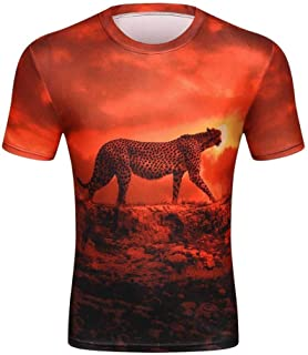 917abf073783 NSDX T-Shirt 3D da Uomo T-Shirt Galassia Spaziale per Uomo T-
