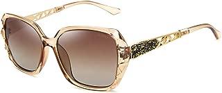 Leckirut Women Shades Classic Oversized Polarized Sunglasses 100% UV Protection Eyewear