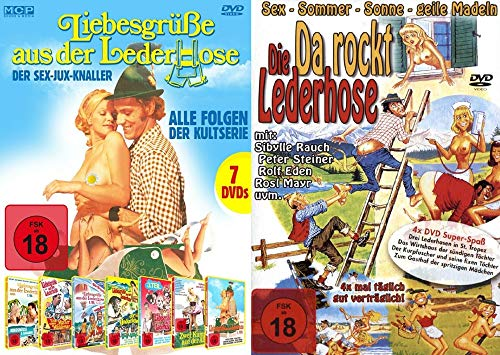 Sexy Classic Lederhosen Kultfilme Paket – 12 Sex Jux Klassiker DVD Collection