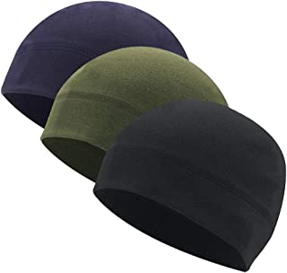 Winter Helmet Liner Fleece Skull Cap Beanie for Men/Women,Thermal Retention/Sweat Wicking/Breathable/Lightweight