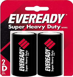 Eveready size D Super Heavy Duty Battery 2-Pack