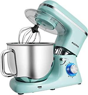Aucma Stand Mixer,1100W 6-Speed 7L Tilt-Head Food Mixer, Electric Kitchen Mixer with Dough Hook, Wire Whip & Beater,1 Year...
