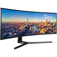 """Samsung LC49J890DKNXZA 49"""" C49J890DKN 3840x1080 Super Ultra-Wide Monitor with USB-C for Business"""