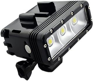 SupTig alta potencia regulable doble recargable impermeable LED luz de vídeo Fill buceo bajo el agu