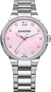 Swarovski Women's Pink Stainless Steel Band Watch - 5205993