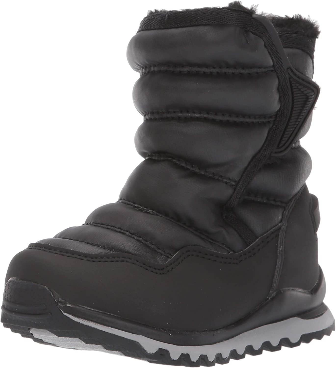 cH2O Baby Alpina 137 All Weather Snow Boots, Black, 10 Toddler