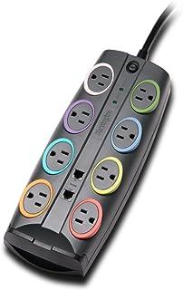 Kensington SmartSockets 8-Outlet 8-Foot Cord & 3090 Joules Premium Surge Protector (K62691NA)