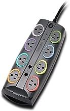 Kensington SmartSockets 8-Outlet, 8-Foot Cord, & 3090 Joules Premium Surge Protector (K62691NA)