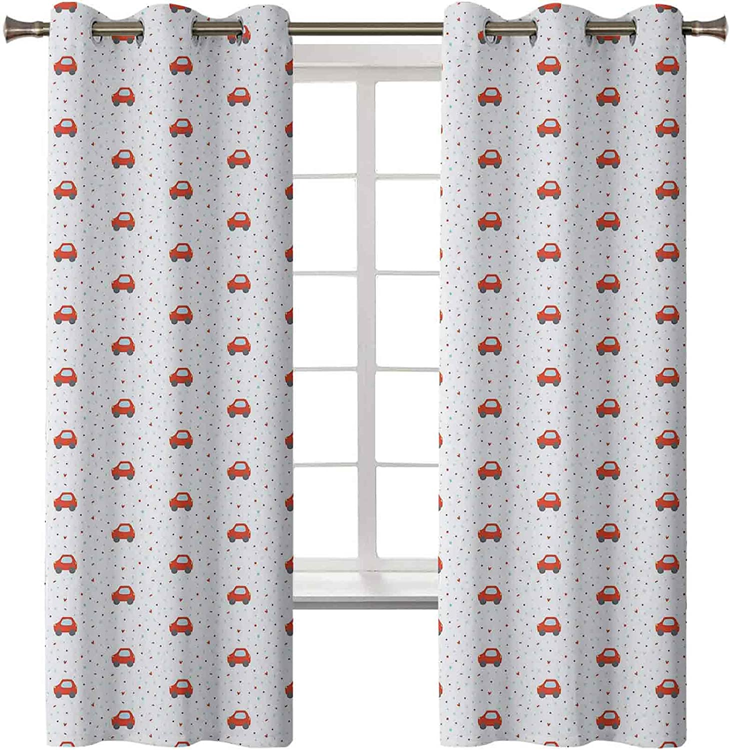 Classic Cartoon Black Out Curtains Continuous Nursery Themed Pattern 2021 spring and summer new wi