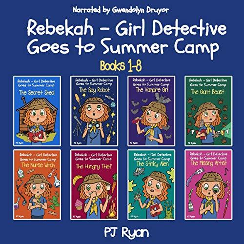 Rebekah - Girl Detective Goes to Summer Camp Audiobook By PJ Ryan cover art