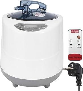Générateur de vapeur de sauna, générateur de sauna portatif de 2.8L 1500W avec télécommande, pour la thérapie de vapeur à ...