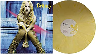 Britney - Exclusive Limited Edition Yellow And White Swirl Vinyl LP [Condition-VG+NM]
