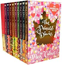 Meg Cabot The Princess Diaries 10 Books Collection Pack Set