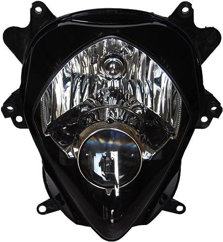 new arrival Mallofusa Motorcycle Headlamp Headlight online sale Assembly for Suzuki 2007 2008 discount GSXR 1000 Black online sale