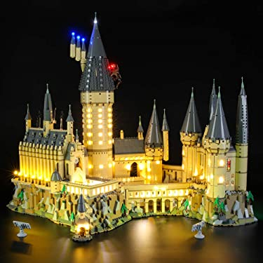 Briksmax Led Lighting Kit for Harry Potter Hogwart's Castle - Compatible with Lego 71043 Building Blocks Model- Not Include The Lego Set