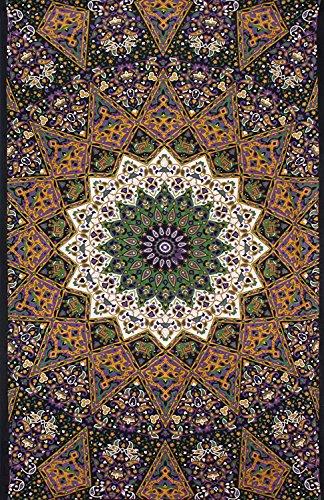 Handicrunch Hippie- Mandala Wandteppiche